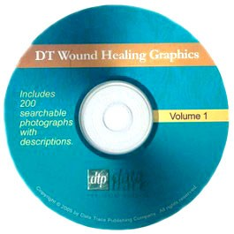 DT Wound Healing Graphics on CD