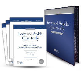 2020 - Foot and Ankle Quarterly (FAQ) Volume 31 - Annual Subscription