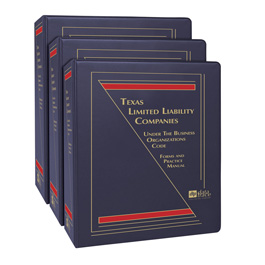 Texas Limited Liability Companies Under the Business Organizations